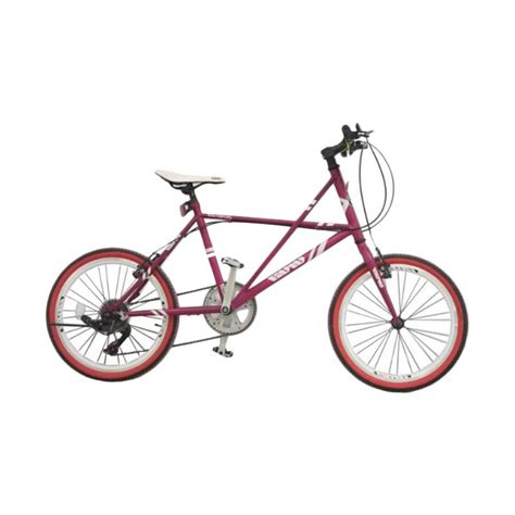 jual viva cycle l2110 viva hi ten mini racing shimano