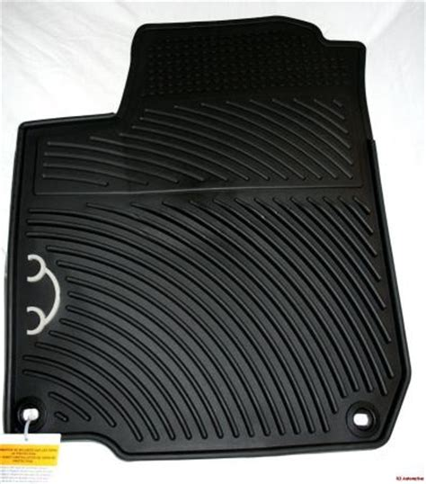 2004 vw new beetle oem rubber floor mats oval ebay