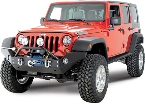wide jeep rock hard 4x4 full width front bumper for 07 18 jeep