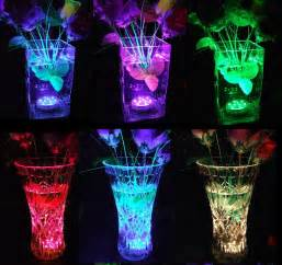 multi color submersible led lights for vases underwater