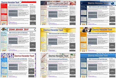 Sbi Transition Templates 3 Column Website Design 3 Column Website Template