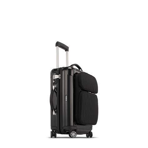 rimowa cabin luggage rimowa salsa deluxe hybrid cabin multiwheel 174 31 0l black
