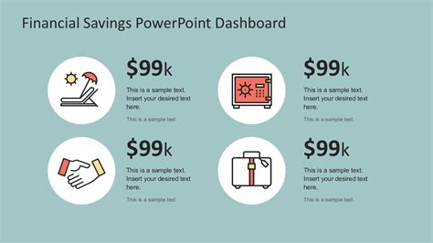 Financial Savings Powerpoint Infographics Slidemodel Powerpoint Templates Financial Presentation