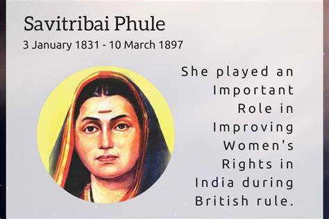 savitribai phule biography in english language story or biography of savitribai phule
