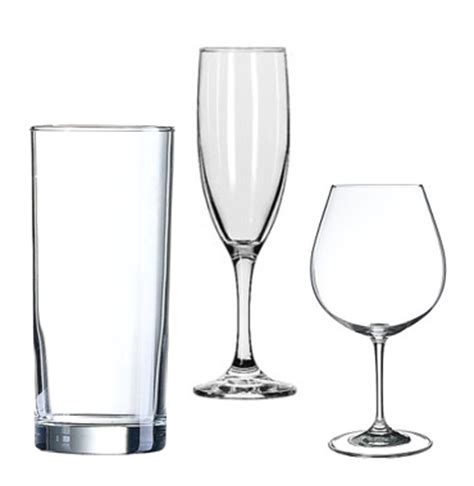What Is Barware Glassware Westend Banqueting Hire