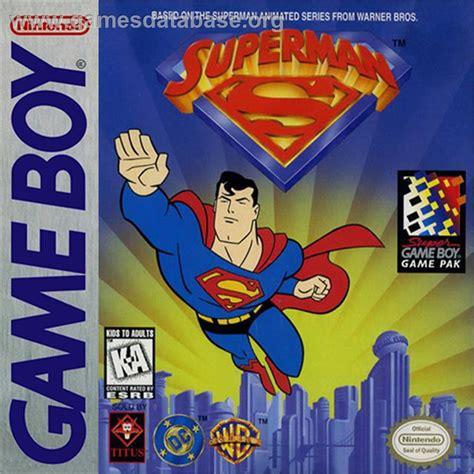 Gamis Permen superman nintendo boy database