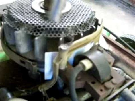 setting  ignition coil gap   briggs youtube