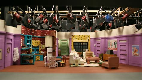 Friends Set these miniature tv show sets are awesome vocativ