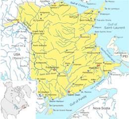 map of canada regional city in the wolrd new brunswick