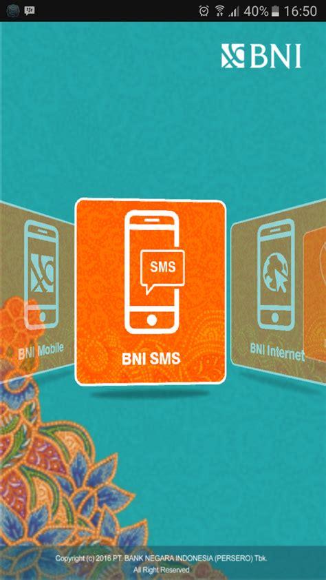 format sms banking bni pdf agen bank layanan keuangan agen laku pandai branchless banking
