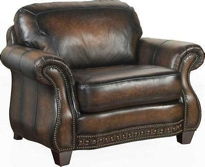 Broyhill Leather by Broyhill Furniture Country Stetson Burnished