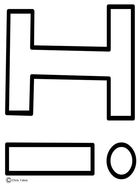 i template letter i template alfabeto letter i