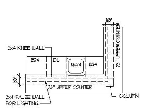 Bar Counter Plan Home Bar Plans Design Blueprints Drawings Back Bar Counter