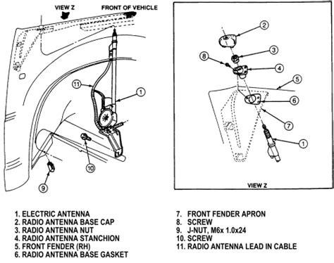 How To Remove Antena On A 2010 Ford Fusion Service