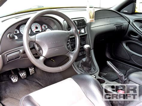 2003 Mustang Interior by Clean 2003 Yellow Terminator 72k Svtperformance