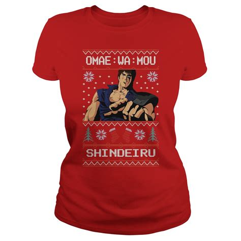 Kaos Omae Wa Mou Shindeiru omae wa mou shindeiru sweater shirt and hoodie