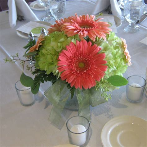 Gerbera Daisy Wedding Centerpieces   Buffalo Wedding