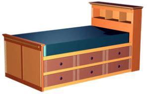 twin storage bed plans bed plans diy blueprints