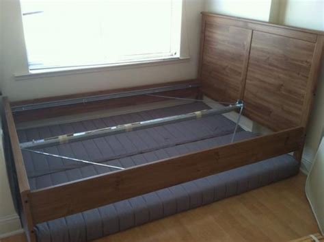 how to take apart ikea bed how to store a mattress box spring and bed frame