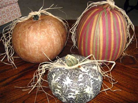 Decoupage Pumpkins - pumpkins decoupage and on