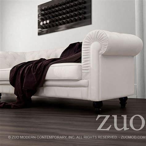 zuo modern aristocrat sofa aristocrat sofa white