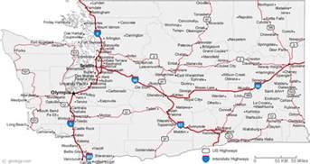 Washington City Map by Pics Photos Print This Map Washington Map