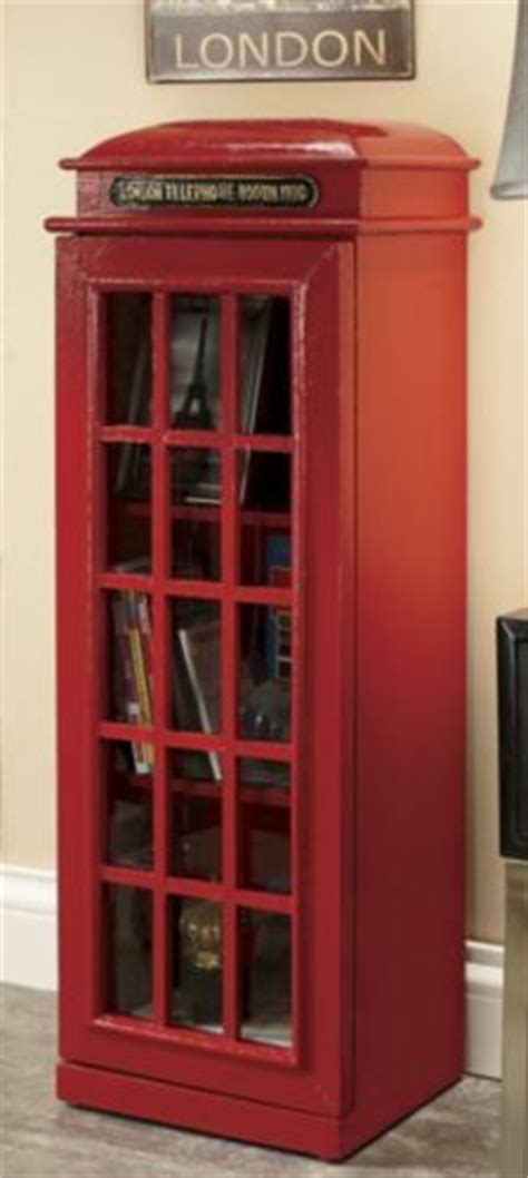 telephone box bookcase what would be really