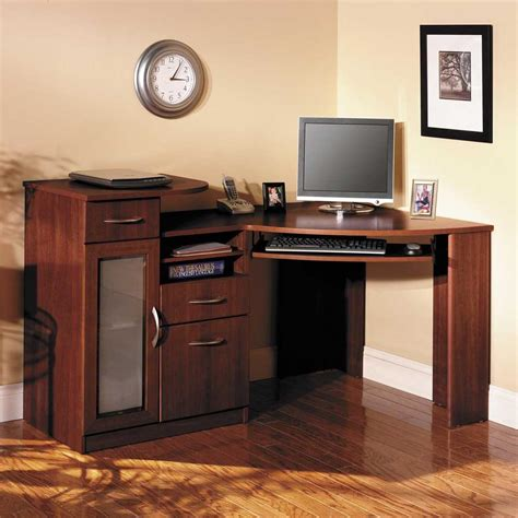 Bush Vantage Corner Computer Desk Computer Desks For Home More Efficient