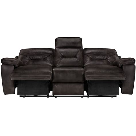 gray reclining sofa city furniture phoenix dk gray microfiber reclining sofa