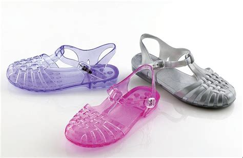 Jelly Shoes jellies a comeback of the 80s