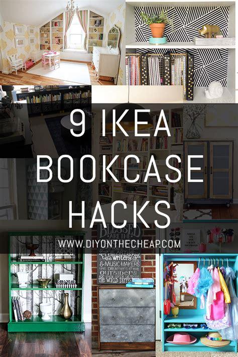 ikea bookcase built in hack 9 ikea bookcase hacks erin spain