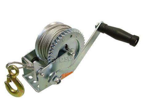 boat winch cable installation professional 1200lb heavy duty hand boat winch td023 ebay