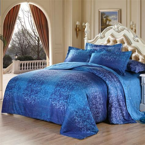 blue damask bedding damask bedding for those who loved classic touches in bedroom atzine com