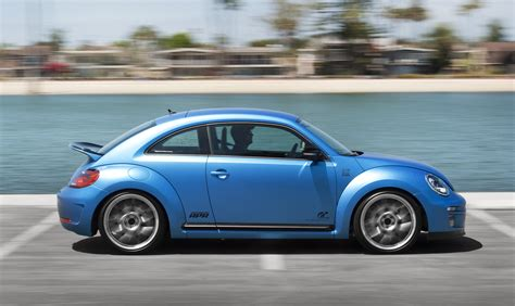 volkswagen beetle show car side in motion photo 5