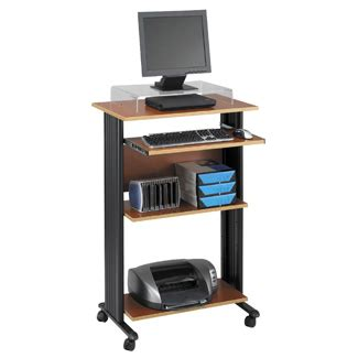 Standup Computer Desk Stand Up Computer Cart Stand Computer Desk