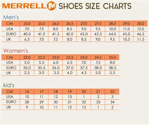 merrell shoe size chart z sports rakuten global market merrell merrell coast