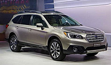 subaru outback 2016 redesign 2016 subaru outback release date review and redesign
