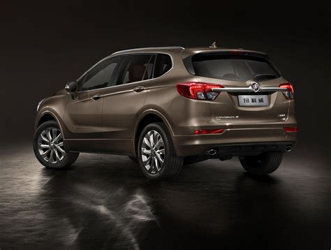buick envision mid size suv officially revealed in china