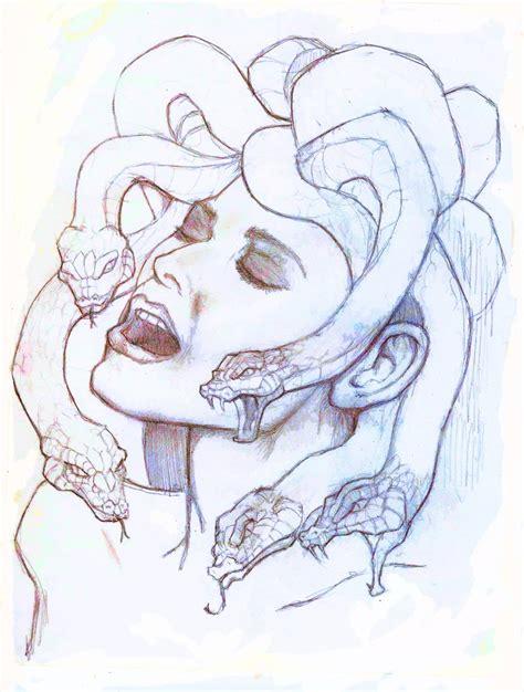 doodle how to make medusa medusa sketch by hulksmash25 on deviantart