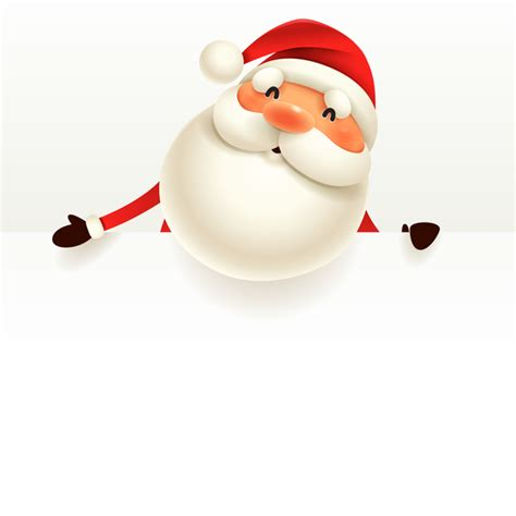 santa background santa sign with background vector 03 free