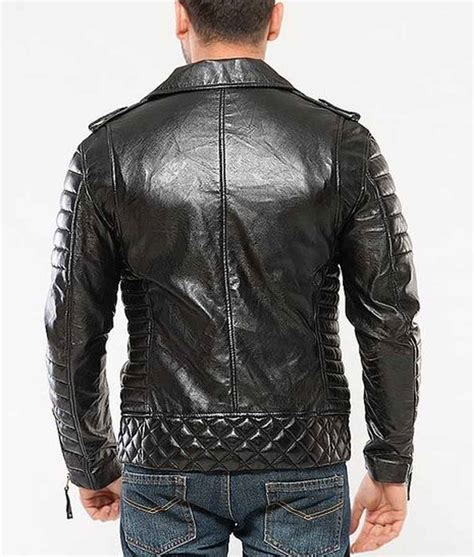 padded motorcycle jacket black padded classic motorcycle mens leather jacket usa