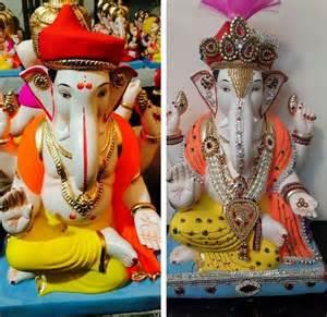 creativity in home decoration ganpati decoration ideas pooja room and rangoli designs