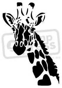 giraffe stencil www pixshark com images galleries with