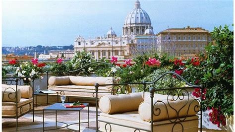 roof top bar rome hotel atlante star rooftop bar in rome therooftopguide com