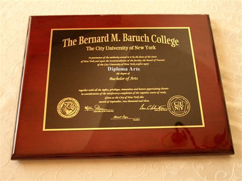Apply For Baruch Mba by Diploma Diploma Baruch College