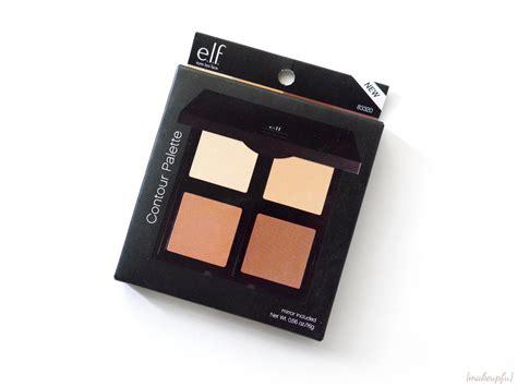 E L F Bronzer Palette e l f studio contour palette review makeupfu