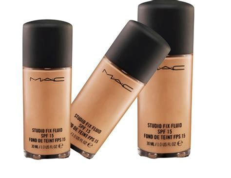 Foundation Mac Original base studio fix fluid mac fps15 100 original pronta