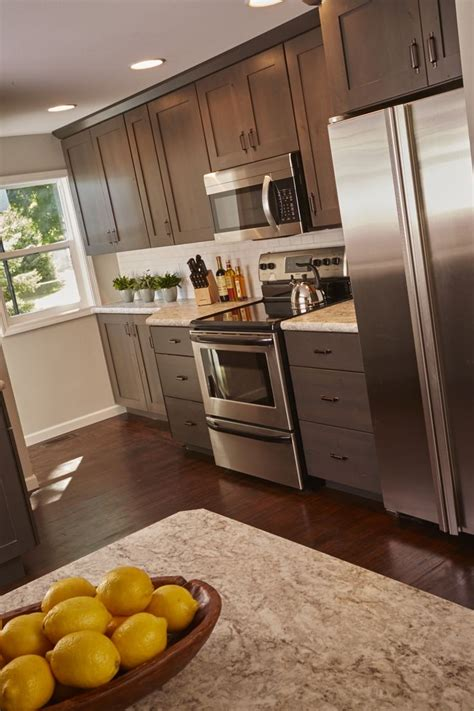 Woodharbor Cabinets by Gray Kitchen Cabinets From By Woodharbor Custom