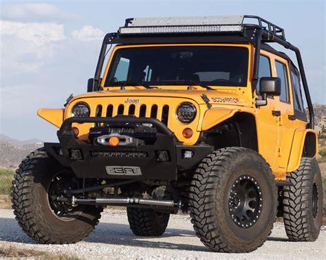 jeep body armor bumper body armor jk 19536 pro series front winch bumper for 07
