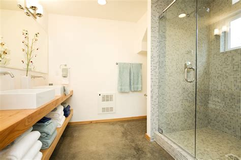 Bathroom Flooring Ideas Concrete A Look At The Use Of Concrete Floors In Bathrooms